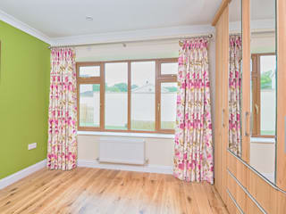 Curtains for a New Build Bungalow by Emily May Interiors