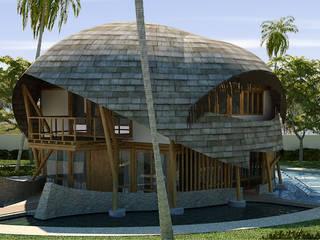 tropical  by RAJ Projetos de Arquitetura Ltda., Tropical