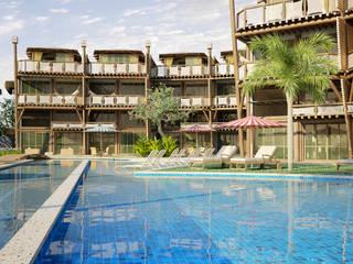 de style tropical par RAJ Projetos de Arquitetura Ltda., Tropical