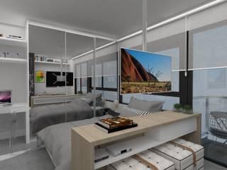 Projeto Estúdio Diseño: Salas de estar  por MR18 Arquitetura   Interiores,Moderno