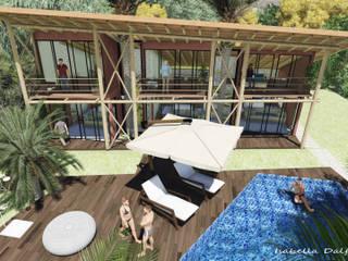 tropical  by Isabella Dalfovo Arquitetura , Interiores e  Construção, Tropical