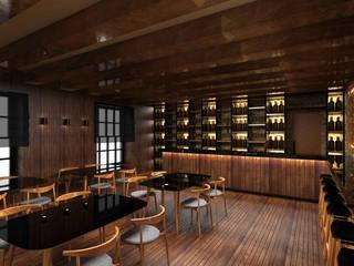 Wine Bar : Bares e clubes  por Atelier 12,Moderno