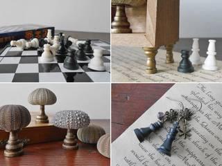 チェスの駒の汎用性: Glam Driveが手掛けた折衷的なです。,オリジナル