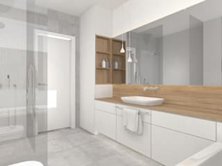 Minimalist style bathroom by Interjo Minimalist