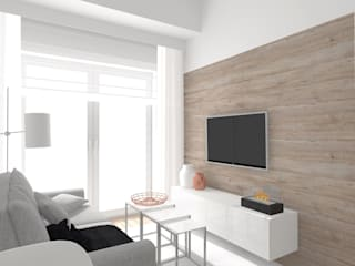 Living room by Interjo, Minimalist
