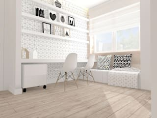 Nursery/kid's room by Interjo, Scandinavian
