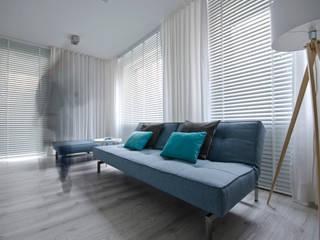 aranżacja wnętrz / projekt apartamentu Koszalin od Fabryka - Wnętrz Alina Szymańska Nowoczesny