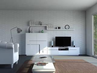 Salones modernos - ILUSION HOME de CUBIMOBAX S.L Moderno