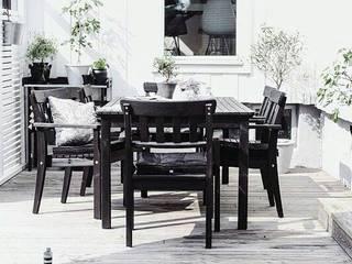 Design for Love Balcones y terrazas de estilo escandinavo