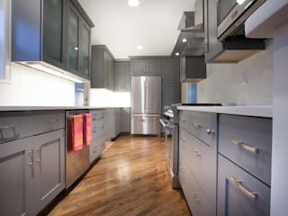 RedBird ReDesign Modern kitchen Grey