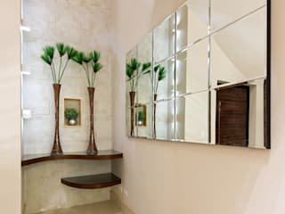 Pasillos, vestíbulos y escaleras de estilo moderno de Designer de Interiores e Paisagista Iara Kílaris Moderno