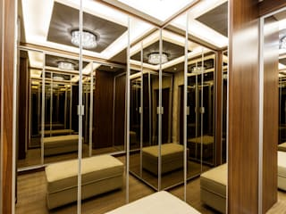 Modern dressing room by Designer de Interiores e Paisagista Iara Kílaris Modern Wood Wood effect