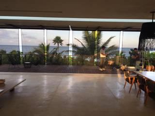 Toldos verticales con tela microperforada para exterior GAVIOTA:  de estilo  por HLA181026V73