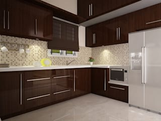 Kitchen Design: modern  by VISUAL KRAFT,Modern