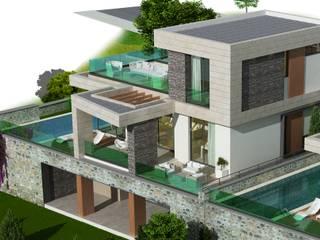 EKOL-YALIKAVAK Modern Evler ARTIBODRUM MİMARLIK MÜH.İNŞ.TAAH.TİC.LTD.ŞTİ Modern