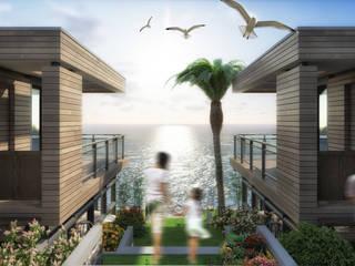 Casas de estilo  por ARTIBODRUM MİMARLIK MÜH.İNŞ.TAAH.TİC.LTD.ŞTİ, Moderno