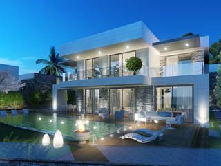 Modern houses by ARTIBODRUM MİMARLIK MÜH.İNŞ.TAAH.TİC.LTD.ŞTİ Modern Marble