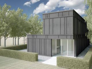 Woonhuis JWVRA Minimalistische huizen van artisan architects Minimalistisch