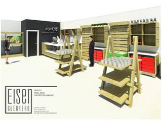Mobiliario de local comercial de Mascotas IGV. de Eisen Arquitecto Moderno