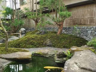 北山杉: 作庭処 植徳が手掛けた庭です。
