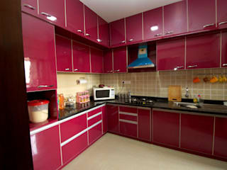 modern Kitchen by Kriyartive Interior Design