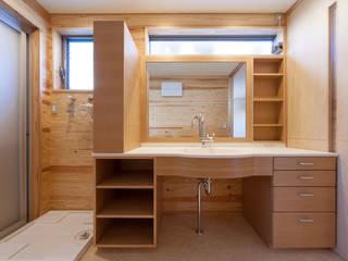 エニシ建築設計事務所 Eclectic style bathroom