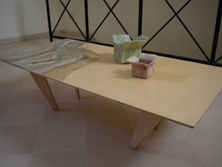 MALTA DI GERIS Living roomSide tables & trays Engineered Wood