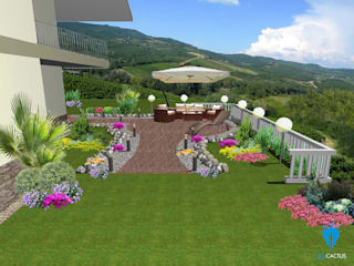Classic style garden by blucactus design Studio Classic