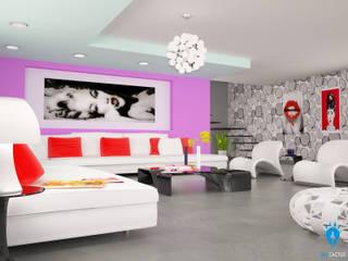 Modern living room by blucactus design Studio Modern