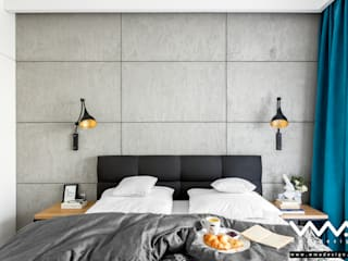 Modern style bedroom by WMA Design Modern