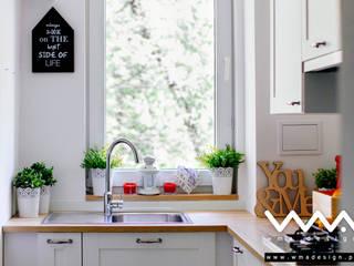 kuchnia BW | home staging: styl , w kategorii  zaprojektowany przez WMA Design