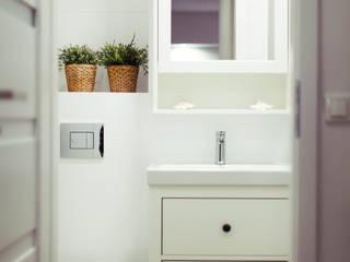 łazienka BW | home staging Nowoczesna łazienka od WMA Design Nowoczesny
