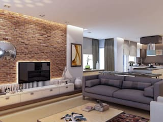 Living room by VERO CONCEPT MİMARLIK, Modern