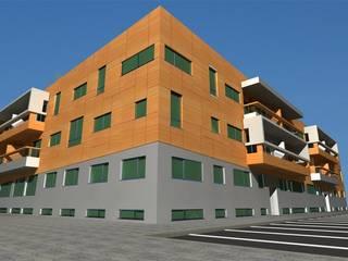 Edifício Praia Oeste Casas modernas por José Vitória Arquitectura Moderno