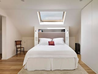 PROJECT WAS DELETED!: modern Bedroom by Horizon Design Services Ltd
