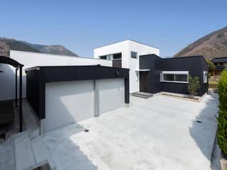 Casas de estilo  por 中村建築研究室 エヌラボ(n-lab)