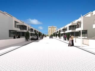 Loteamento Quinta da Marina : Casas  por José Vitória Arquitectura,Moderno
