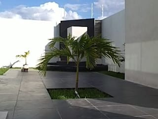 Modern garden by Base cubica Arquitectos Modern