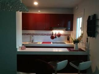 Modern kitchen by Base cubica Arquitectos Modern