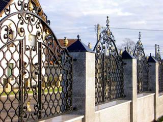 Realizacja ogrodzenia 5: styl , w kategorii  zaprojektowany przez Armet
