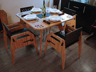 Comedor MayoCinco 2:  de estilo  por Wedgewood Furniture