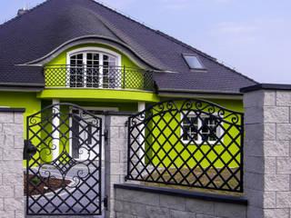 Realizacja ogrodzenia 4: styl , w kategorii  zaprojektowany przez Armet