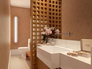 Baños de estilo  por SEMARA BRITO - DESIGN PROJETOS E INTERIORES, Moderno