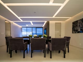 Dining room by HO arquitectura de interiores, Modern