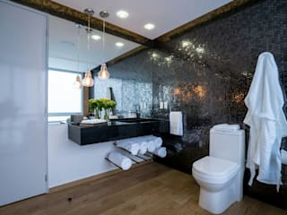 HO arquitectura de interiores Modern style bathrooms