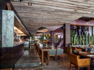 Restaurante Sonora Grill Prime Masaryk Comedores eclécticos de PASQUINEL Studio Ecléctico