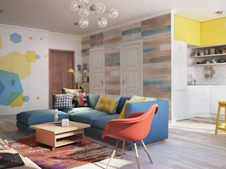 Living room by Polygon arch&des,