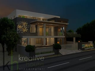 Houses by KREATIVE HOUSE, Modern