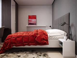 EVGENY BELYAEV DESIGN의  침실