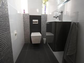 Gäste-WC Moderne Badezimmer von Bad&Design Rußin&Raddei Modern